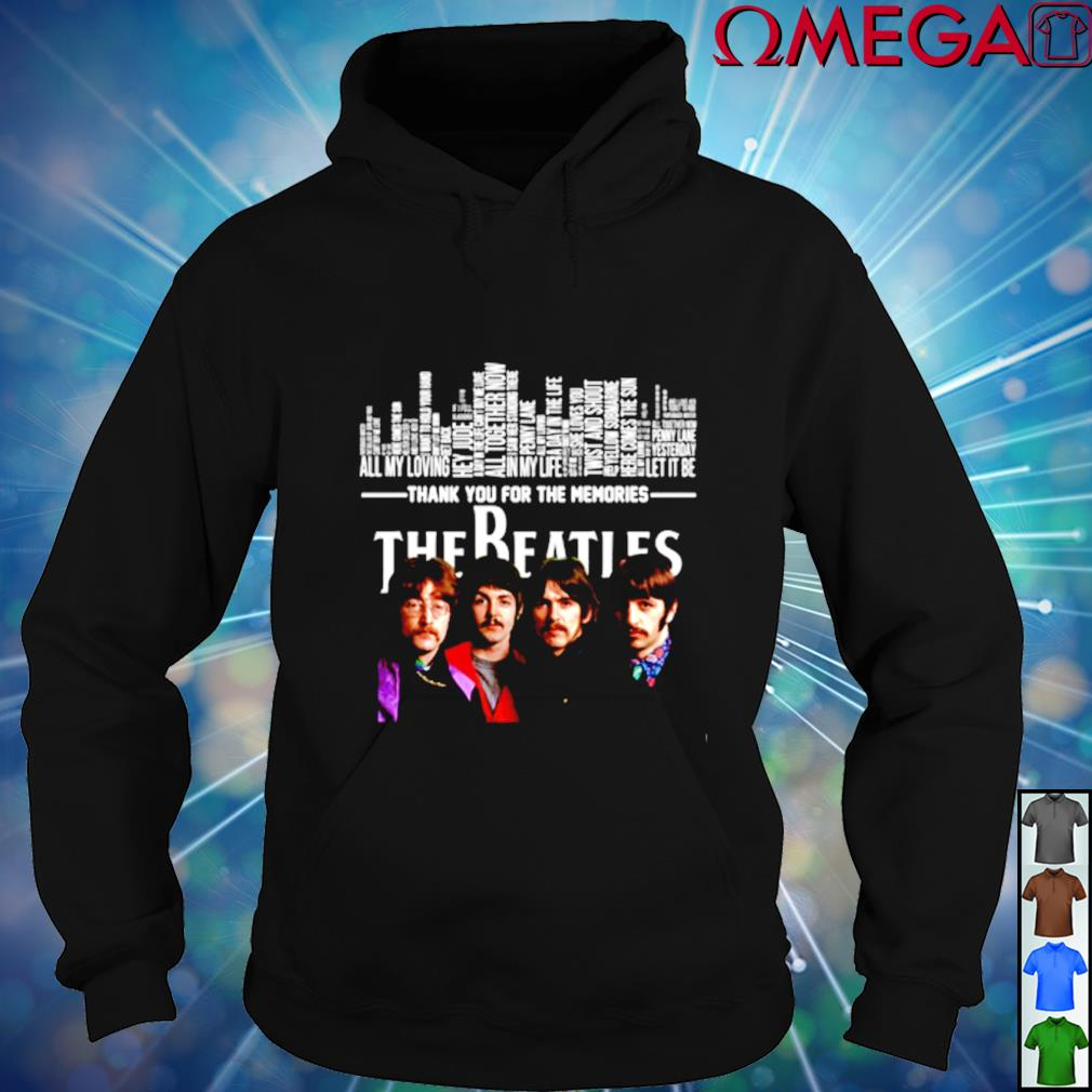 Thank you for the memories The Beatles hoodie