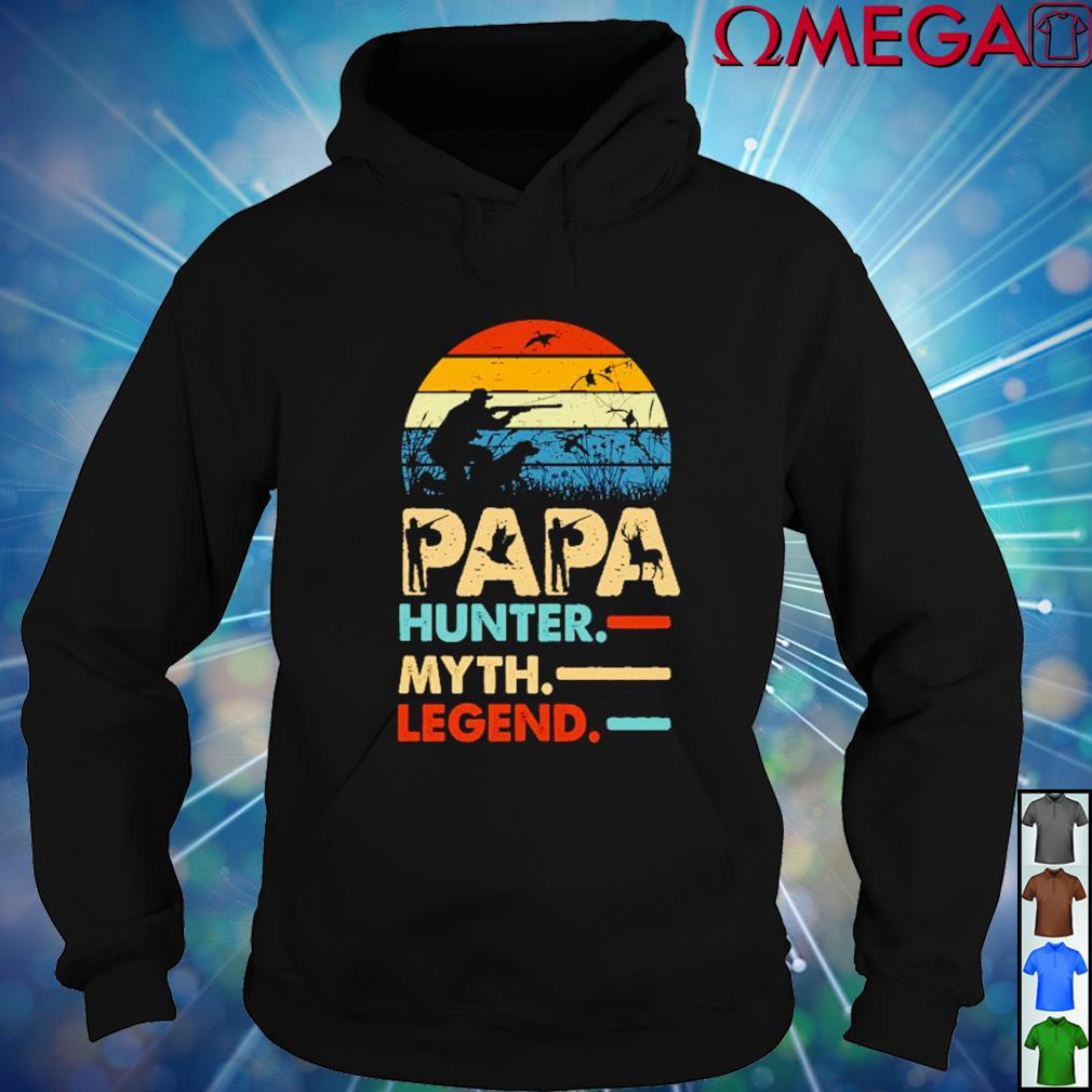Papa Hunter myth and legend vintage hoodie