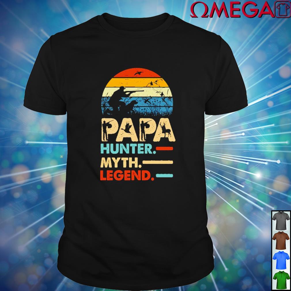 Papa Hunter myth and legend vintage shirt
