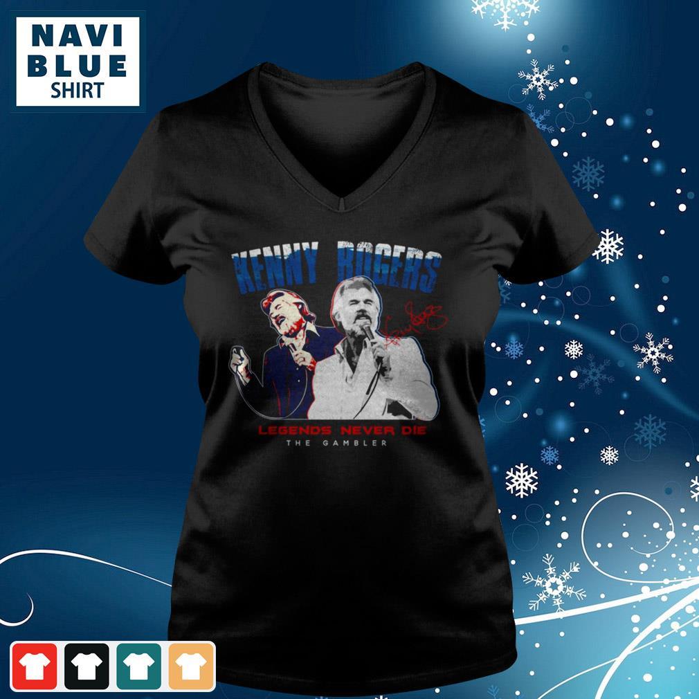 Legends Never Die Adult Mens T-Shirt Kiss