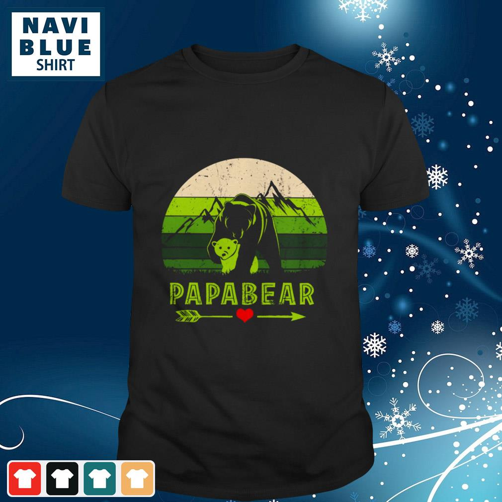 Mountain Papabear Love Vintage shirt