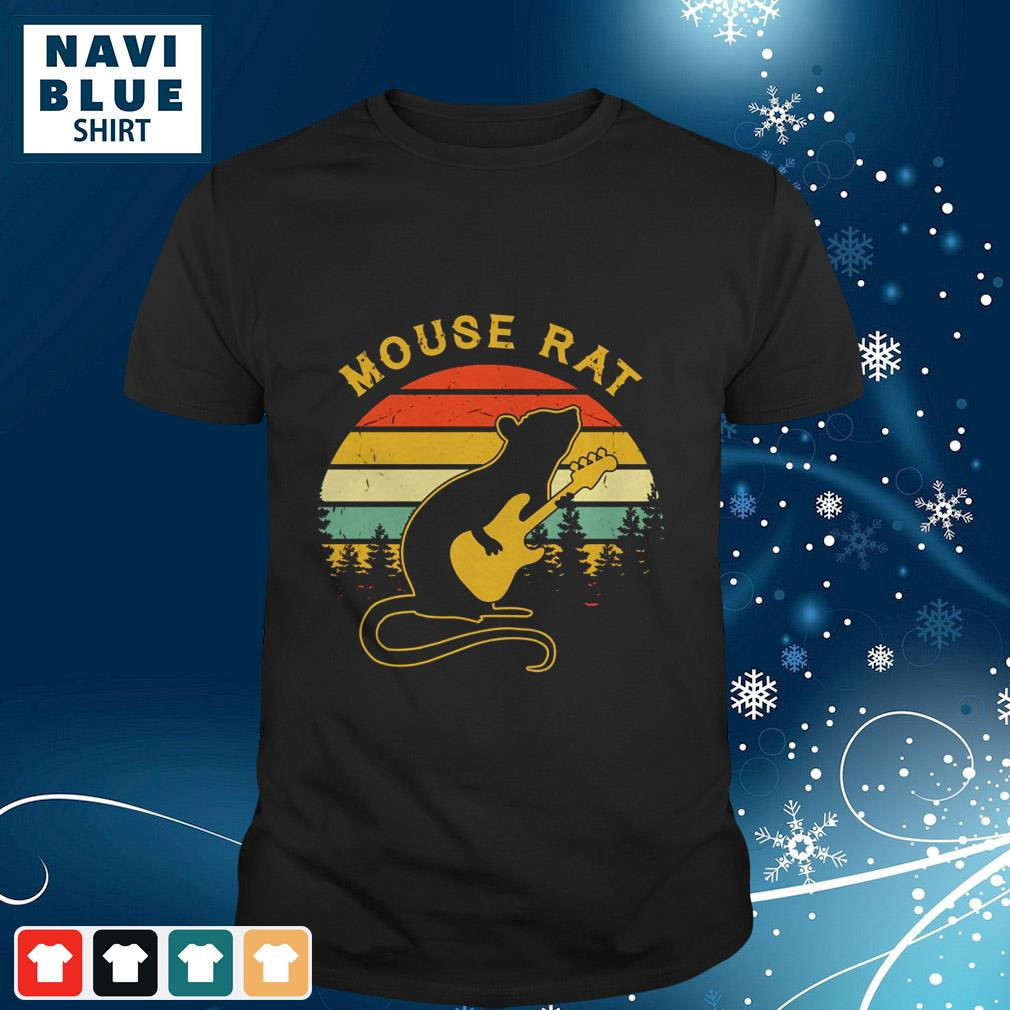 Vintage Mouse Rat Guitar Pretty shirt