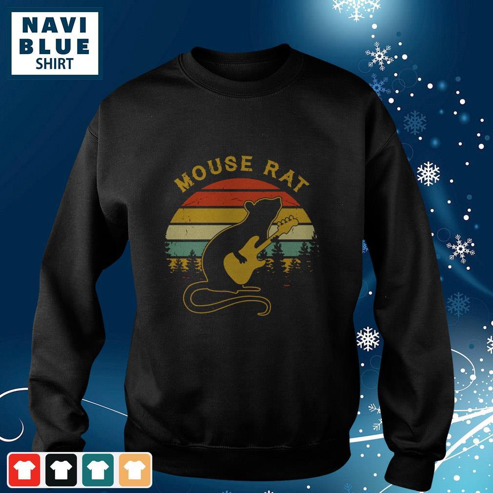 Vintage Mouse Rat Guitar Pretty sweater