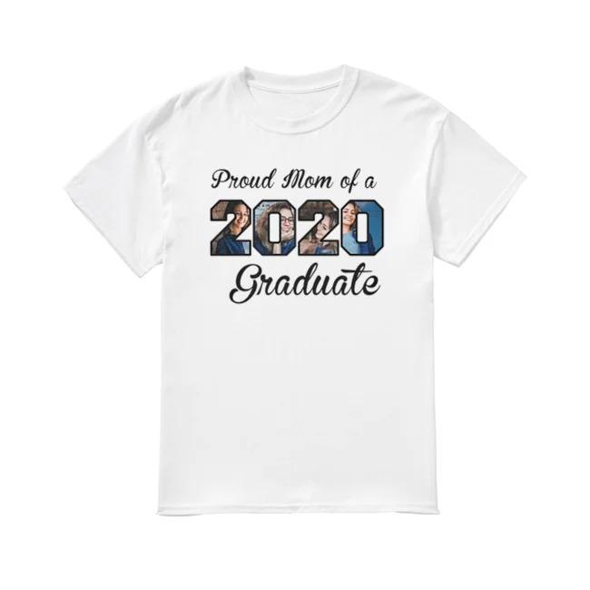 Hot Proud Mom of a 2020 Graduate shirt