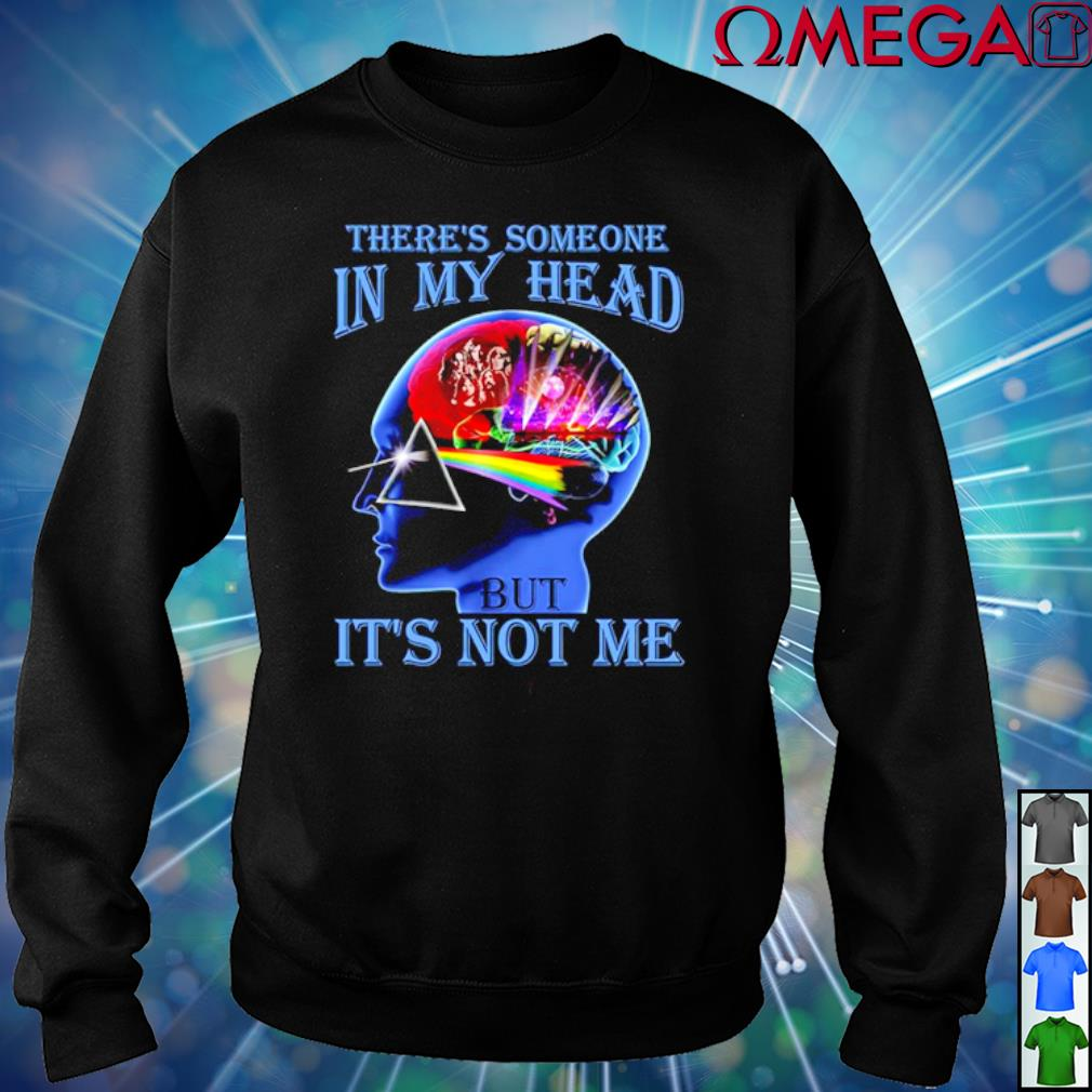 There/'s Someone In My Head But It/'s Not Me Men T Shirt Cotton S-5XL Black