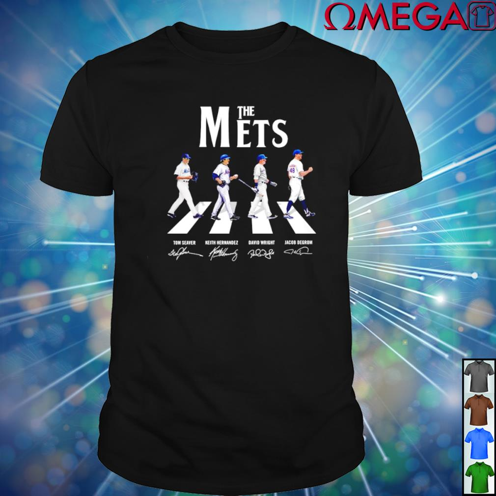 Abbey Road The Mets signature T-shirt