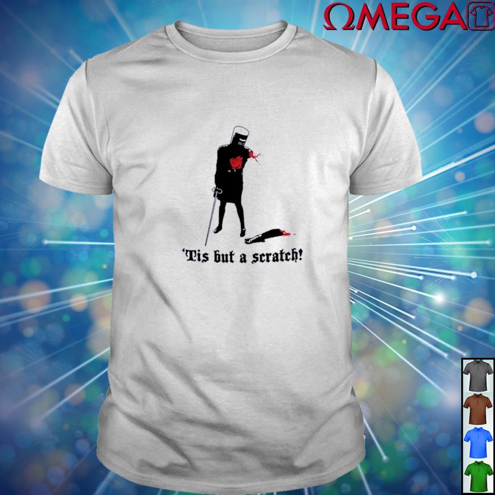 Black Knight Tis but a scratch T-shirt