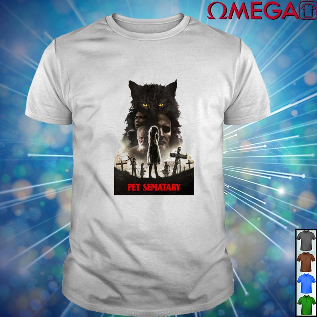 Pet Sematary film of Stephen King shirt