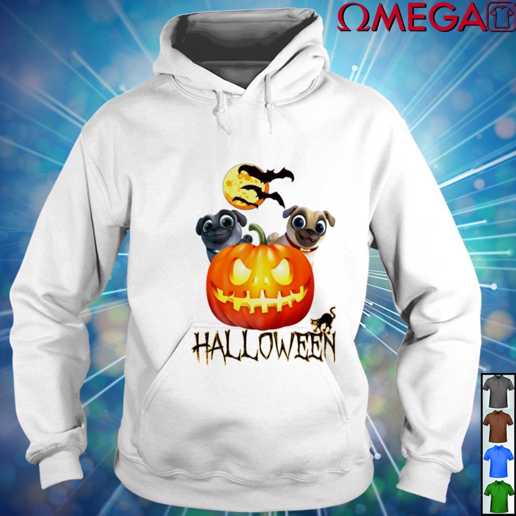 Puppy dog pals pumpkin Halloween s hoodie