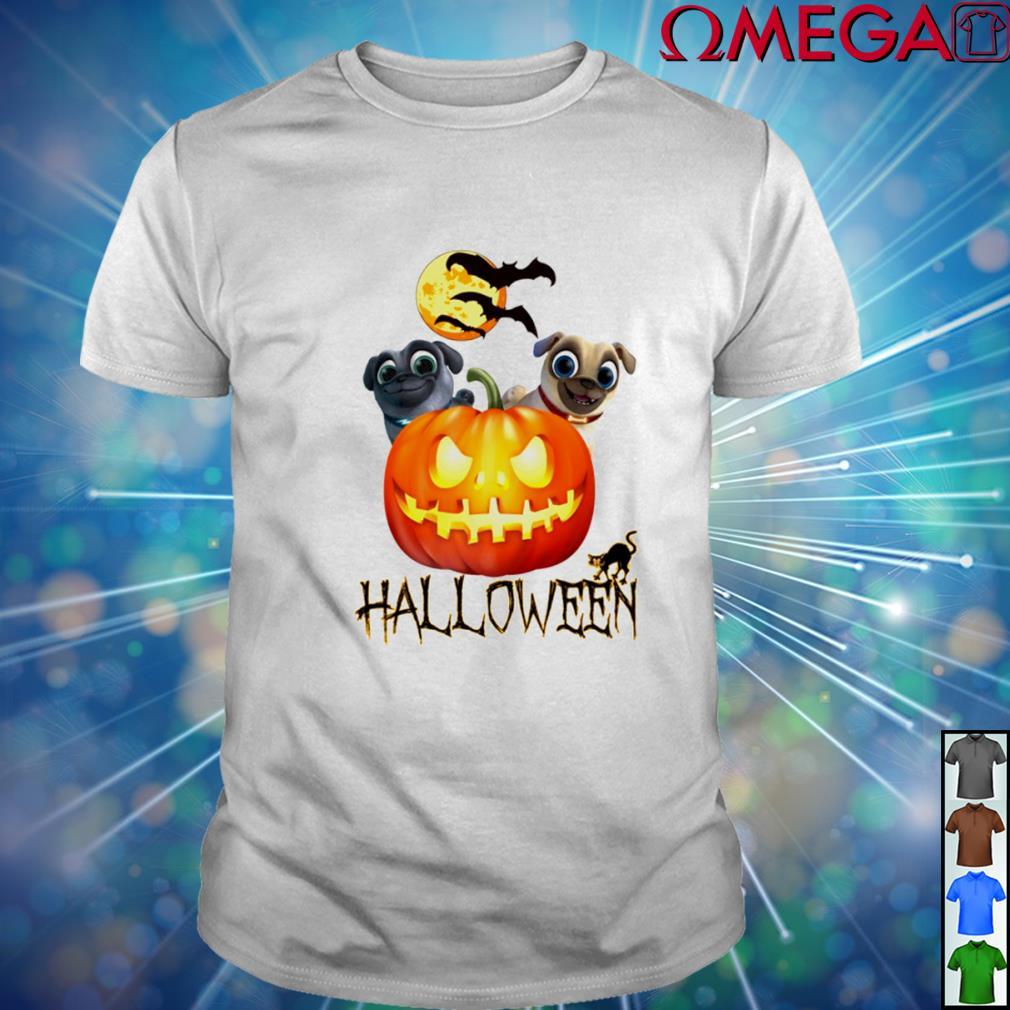 Puppy dog pals pumpkin Halloween shirt
